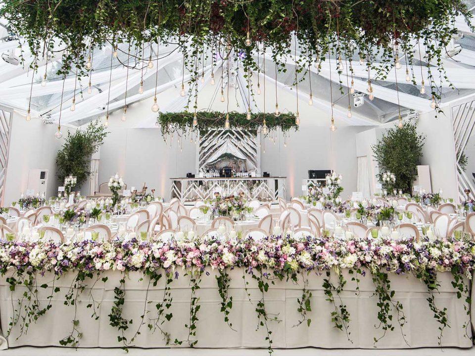 Countryside Surrey Summer Wedding Luxury Bespoke Marquee JustSeventy Bride