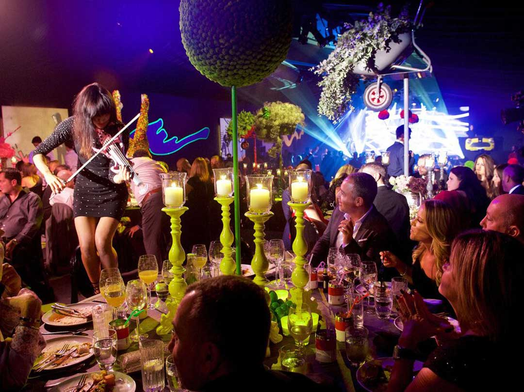 Luxury Event Contemporary Art Barmitzvah Party Marquee JustSeventy