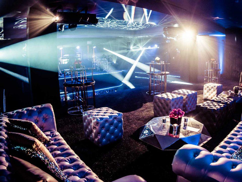 Luxury Birthday Party Design Pool Bespoke Nightclub JustSeventy